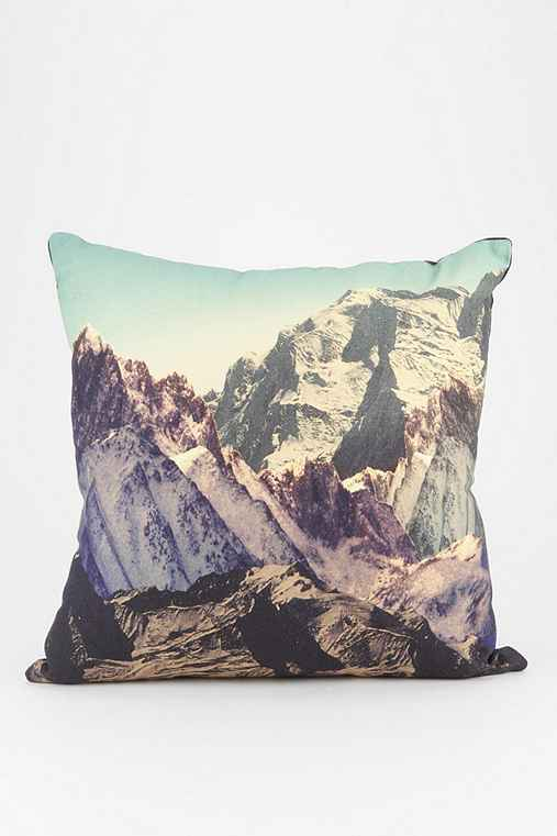 Throw Pillows Urban Outfitters : 4040 Locust Snow Mountain Pillow - Urban Outfitters