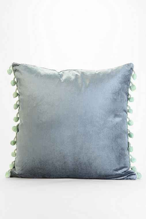 Throw Pillows Urban Outfitters : Plum & Bow Square Velvet Pillow - Urban Outfitters
