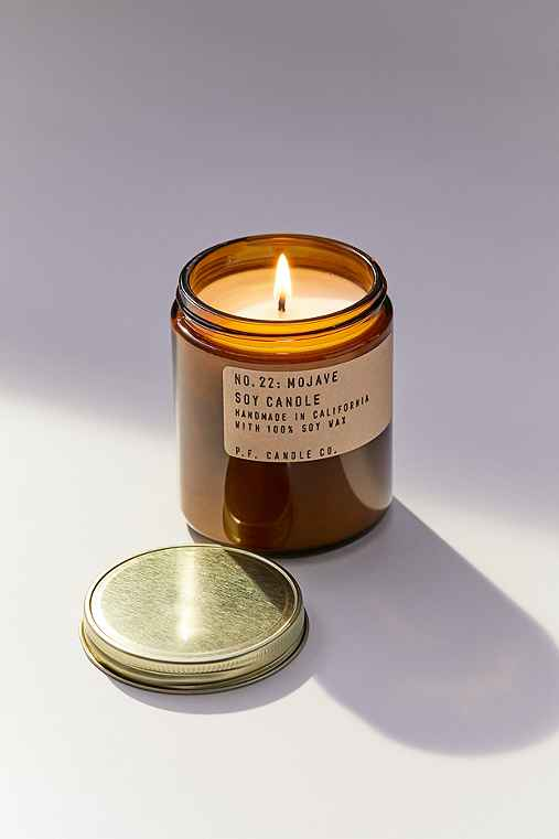 PF Candle Co. Amber Jar Soy Candle,SPRUCE,ONE SIZE
