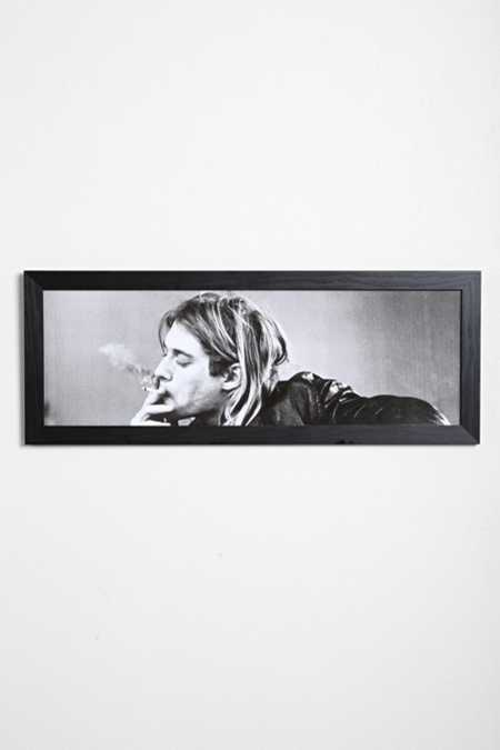 Kurt Cobain Framed Wall Art