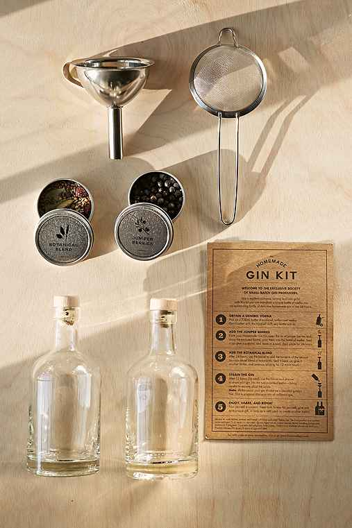 The Homemade Gin Kit,BROWN,ONE SIZE