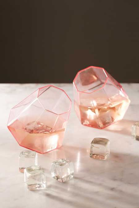 Drink A Diamond Glass Set