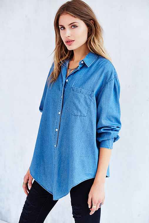Cheap Monday Turn Denim Shirt - Urban Outfitters