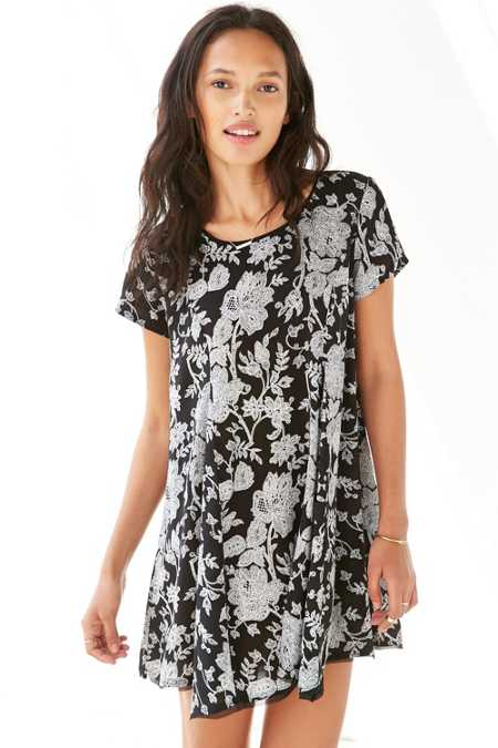 Silence + Noise Witchy T-Shirt Dress