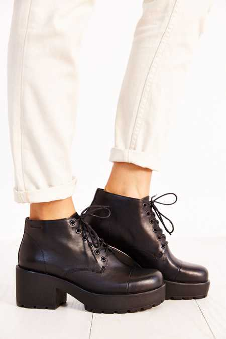 Vagabond Leather Dioon Ankle Boot