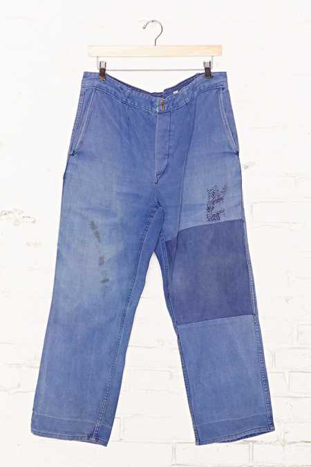 Vintage French Workwear Jean