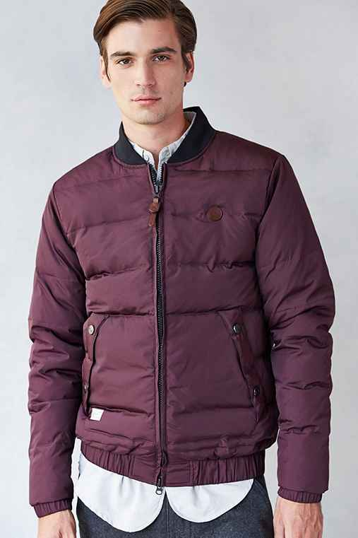Marshall Artist Premium Down Bomber Jacket - Urban Outfitters