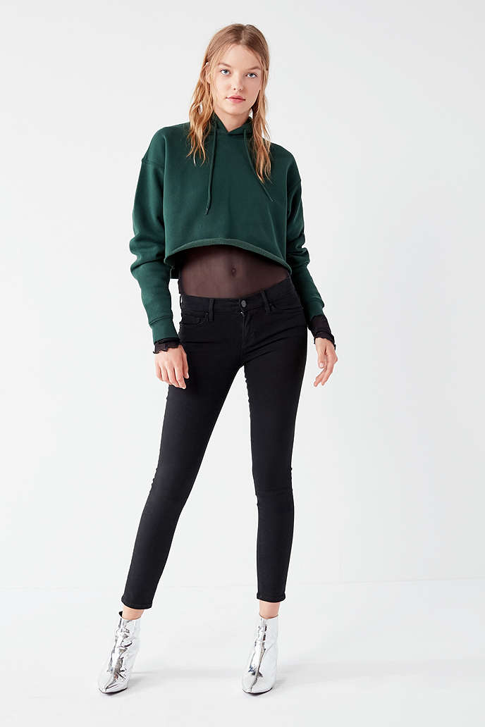 BDG Twig Mid-Rise Skinny Jean - Black - Urban Outfitters