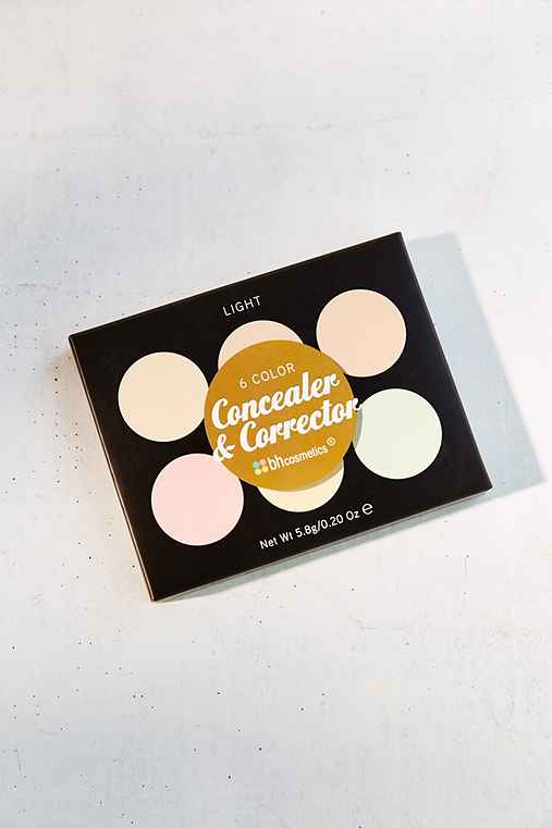 bh cosmetics Concealer & Corrector Palette,LIGHT,ONE SIZE