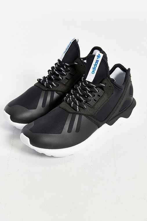 adidas Originals Tubular Running Sneaker,BLACK MULTI,10.5