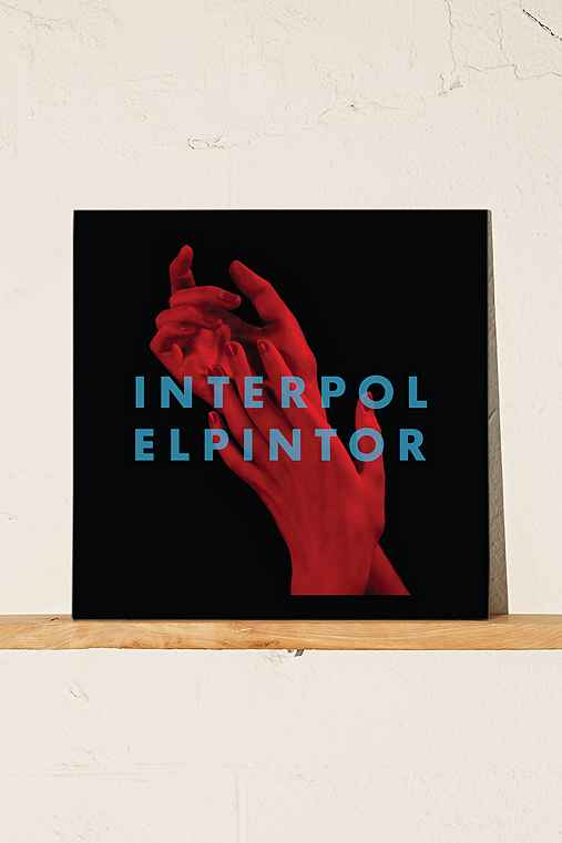 Interpol - El Pintor LP,BLACK,ONE SIZE