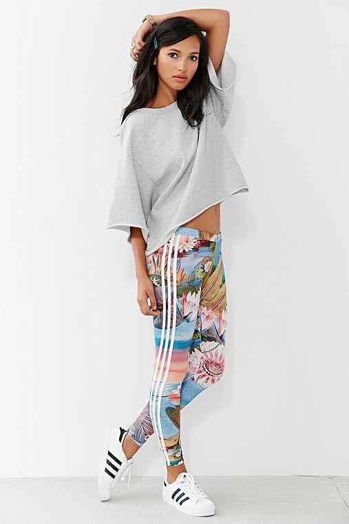 Adidas Originals Curso Legging Urban Outfitters