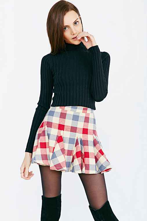 Ryder X UO Flannel Skirt