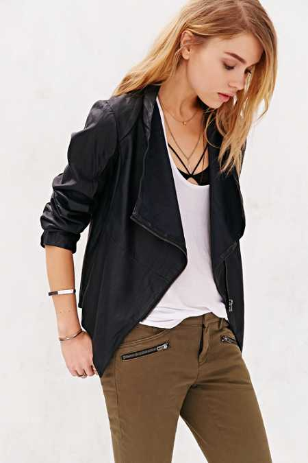 BB Dakota Ellif Faux Leather Jacket