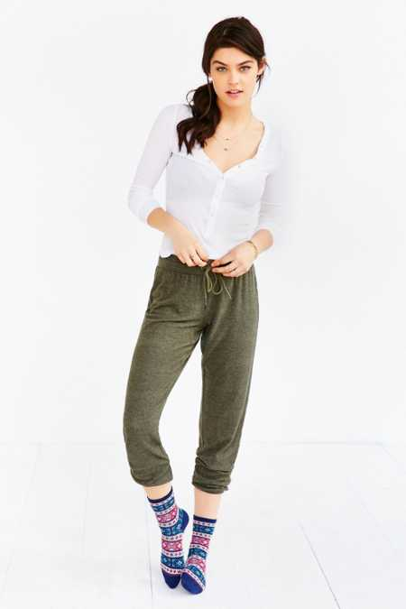 Out From Under Cozy Fleece Jogger Pant