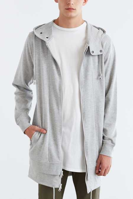 The Narrows Long Zip Hooded Sweatshirt