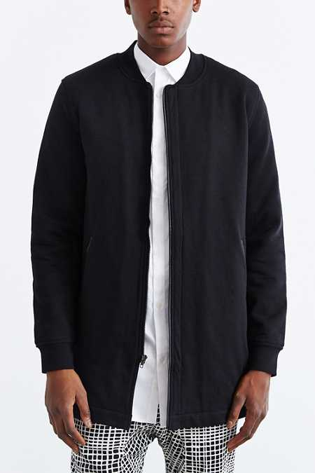 The Narrows Long Bomber Jacket