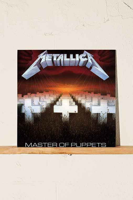 Metallica - Master Of Puppets LP,BLACK,ONE SIZE