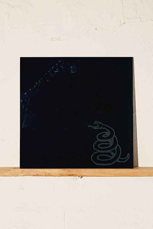 Metallica - Metallica LP,BLACK,ONE SIZE