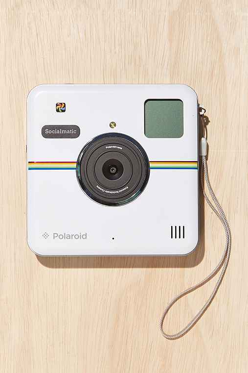 Polaroid Socialmatic Camera,WHITE,ONE SIZE