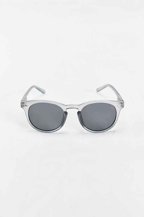 Grey Round Sunglasses,GREY,ONE SIZE