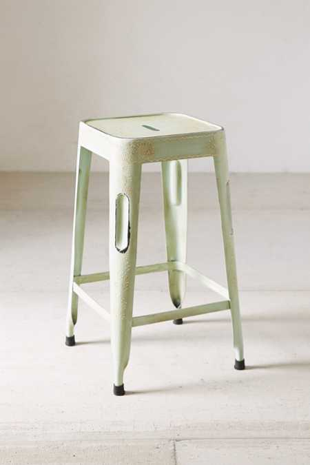 Magical Thinking Painted Industrial Stool