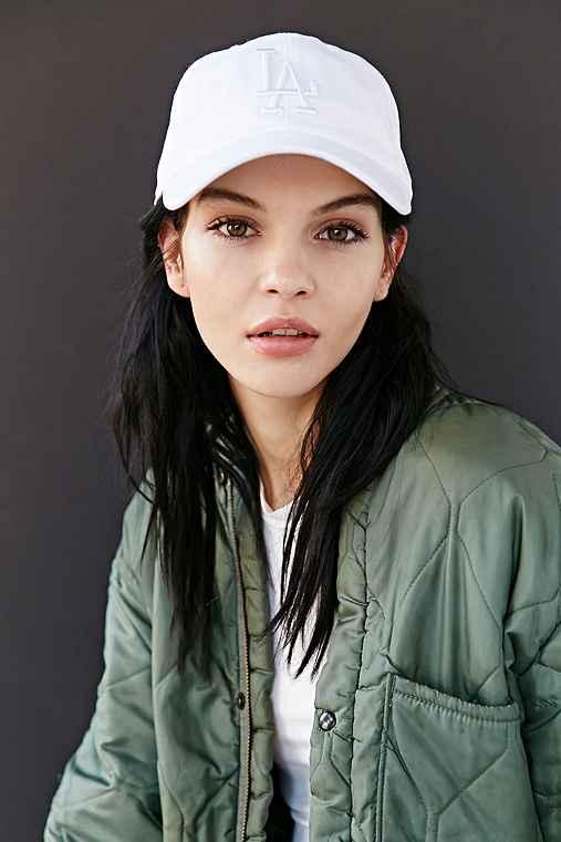 American Needle X UO Tonal Strap-Back Hat,WHITE,ONE SIZE
