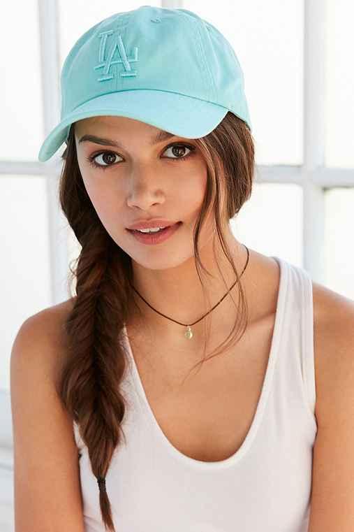 American Needle X UO Tonal Strap-Back Hat,MINT,ONE SIZE