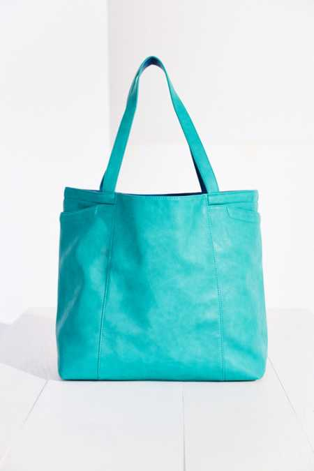 BDG Large Reversible Pocket Tote Bag