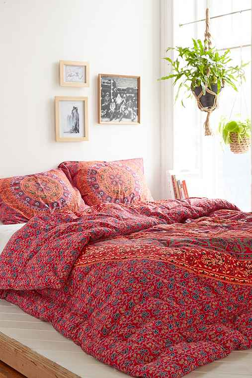 Magical Thinking Red Medallion Comforter Urban Outfitters