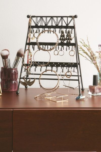Jewelry storage ideas that put an end to tangled necklaces and lost earrings