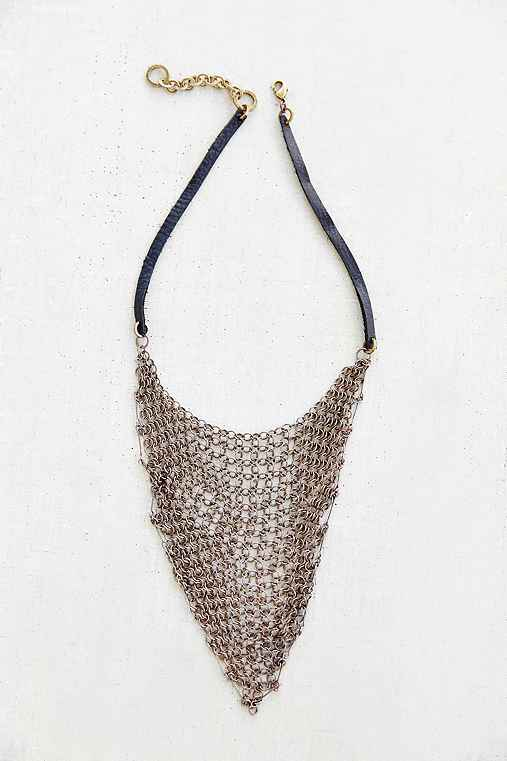 Moto Bandana Chainmail Necklace