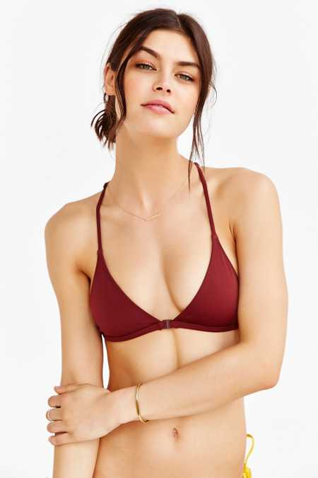 Out From Under Triangle Racerback Bikini Top