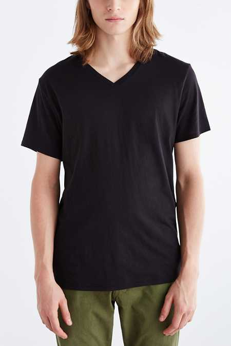 BDG Standard-Fit V-Neck Tee
