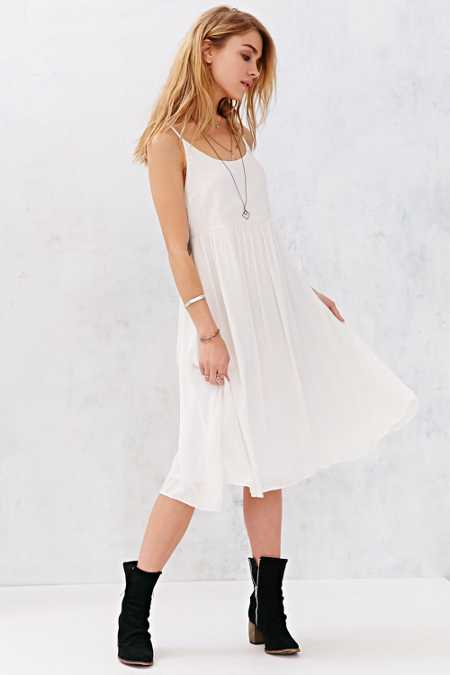 white dress urban outfitters