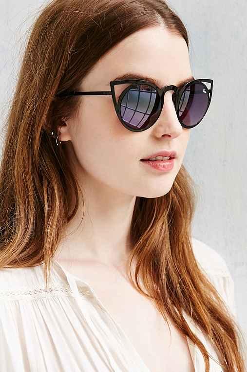 Quay Invader Sunglasses,BLACK MULTI,ONE SIZE