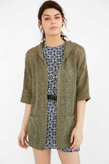 Ecote Open-Stitch Cardigan