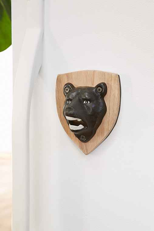 bear magnetic bottle opener urban outfitters. Black Bedroom Furniture Sets. Home Design Ideas