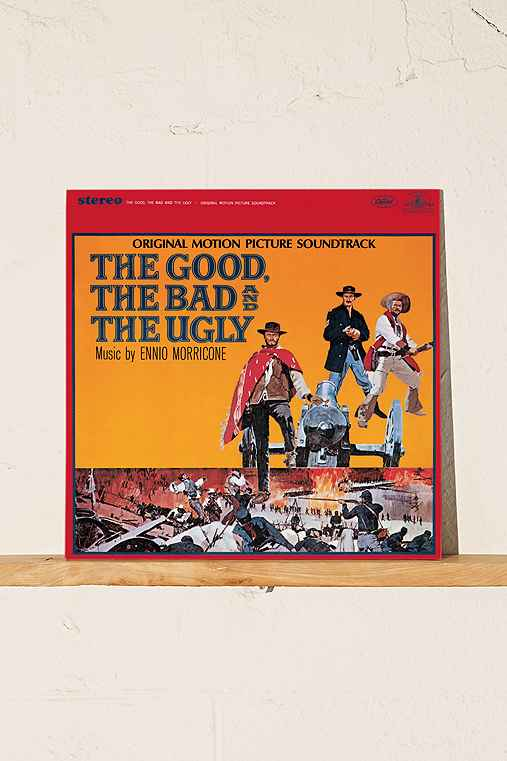 Ennio Morricone - The Good, The Bad And The Ugly Soundtrack LP,BLACK,ONE SIZE