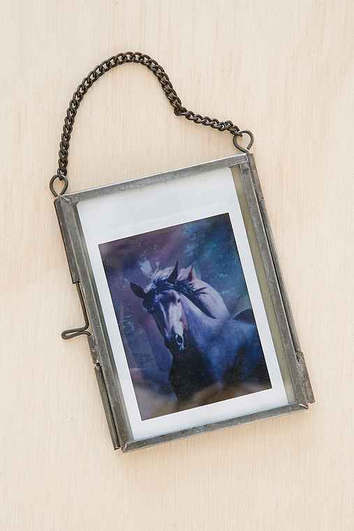 Instax Glass Picture Frame,SILVER,ONE SIZE