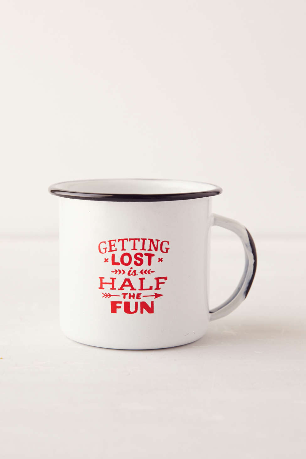 getting lost is half the fun urban outfitters mug