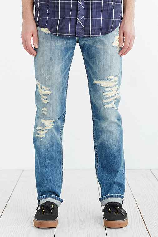 Levi's 511 Toto Destroyed Slim Jean,VINTAGE DENIM LIGHT,30/30