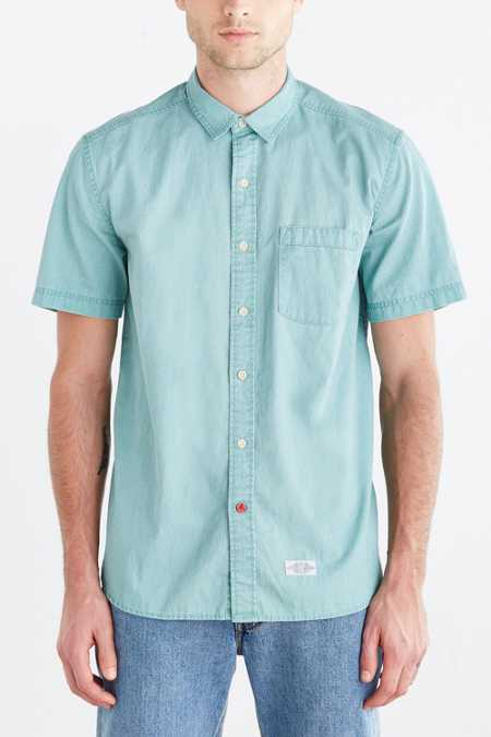 CPO Hollis Washed Short-Sleeve Button-Down Shirt