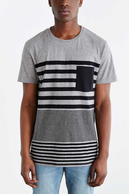 BDG Engineered Mocktwist Stripe Standard-Fit Tee