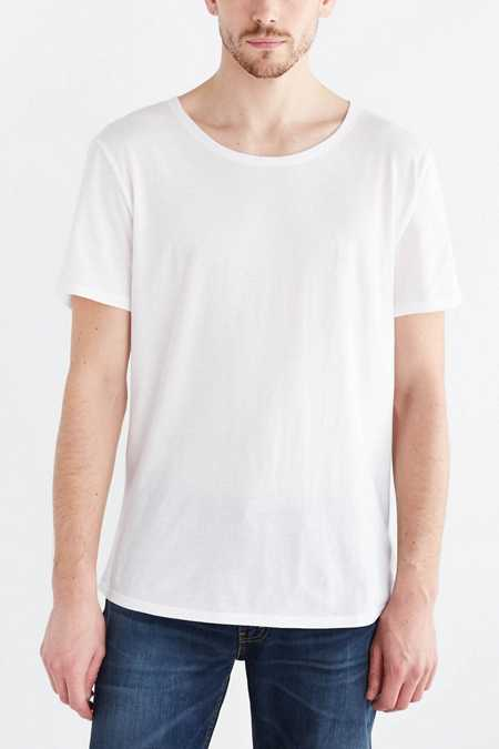 BDG Standard-Fit Wide Neck Tee