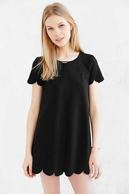 Cooperative Scallop Tee Dress