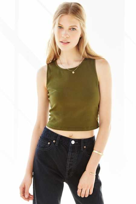 Truly Madly Deeply Everday Cropped Tank Top