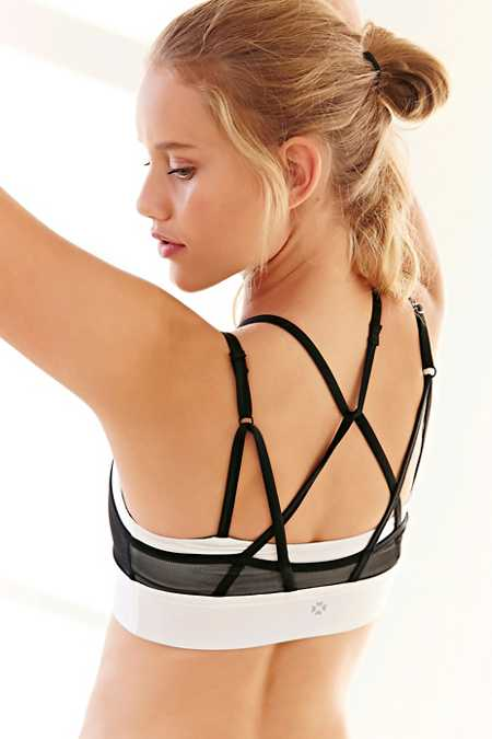 Without Walls Mesh Halter Bra