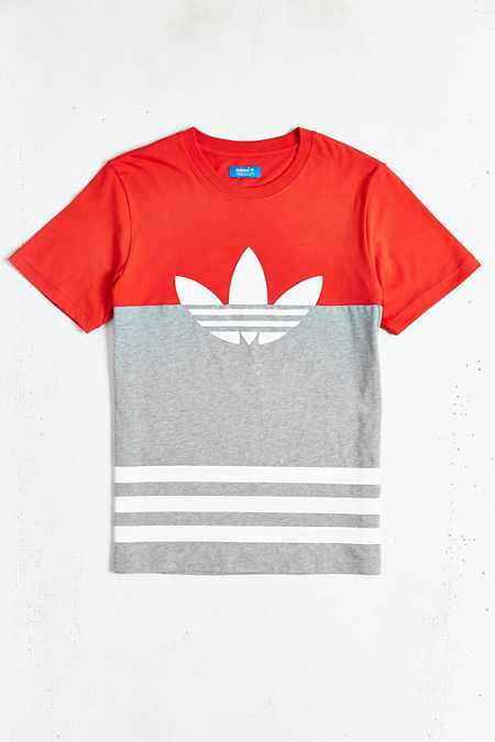 adidas Originals Colorblock Trefoil Tee
