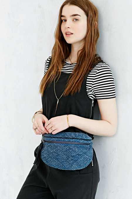 Ecote Textured Belt Bag